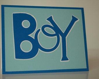 Baby Boy Card- BOY