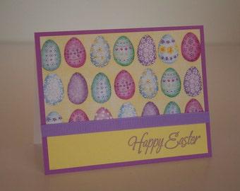 Easter Card- Fancy Eggs