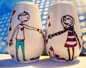 Lovers Salt and Pepper Shaker
