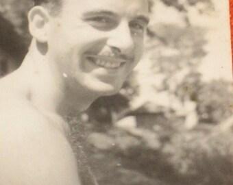 Vintage WW2 Photograph British Soldier in Burma