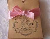 Love Gift Tags - Set of 20