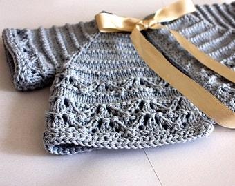 Knitting Pattern (pdf file) Baby Cardigan/Shrug (sizes 1/3/6/12/18 months