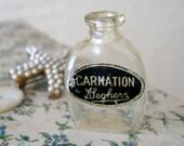 Carnation G Leghers Miniature Perfume Bottle