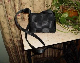 Black Purse w/Shoulder Strap