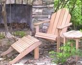 barn wood adirondack furniture