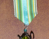 Medal for Heroic Tea Service in Green