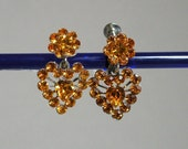 Topaz Hearts Earrings