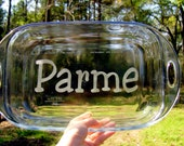 Name That Pan - Personalized Glass Baking Dish 9x13