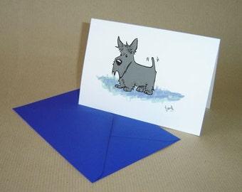 Scottish terrier cards