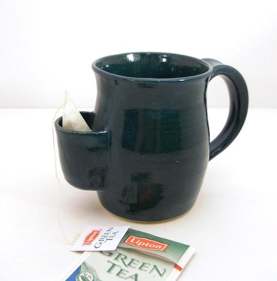 Mug, Tea Drinkers Sidekick, Emerald Green Cup