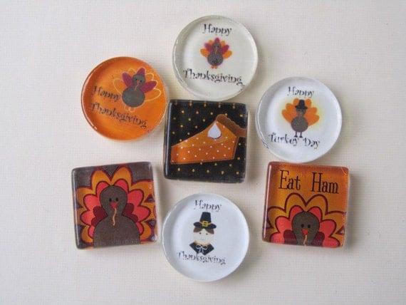 Decorating Ideas > Items Similar To Thanksgiving Decorations Fridge Magnets  ~ 070224_Thanksgiving Decorations On Etsy