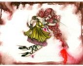 Delicate Dreamer 11x17 Original Fine Art Print