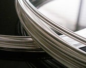 SALE 14 Gauge - 1FT Dead Soft Round, Sterling Silver Wire