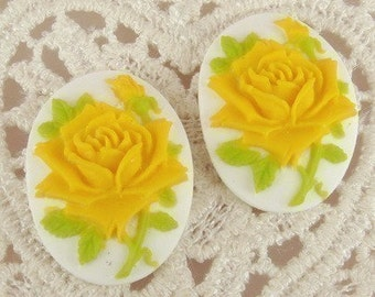 Sale90s-00-CM 12pcs Super Beautiful  Roses Cameo-Yellow