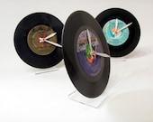 Vinyl Record Desk Clock olyteam