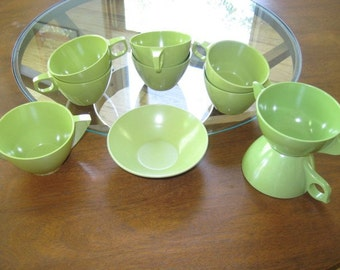 Green with Envy Melmac Collection