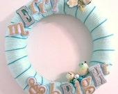 SALE Merry and Bright Yarn Wreath