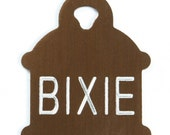 Pet Tag Personalized on Two-Sided Small Hydrant in 10 Colors