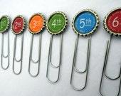 ONE Grade Bookmark for Student or Teacher Gift