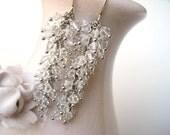 Swarovski Bridal Crystal Cluster Earrings - FREE SHIPPING