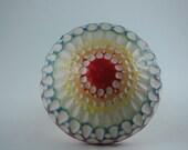 Rainbow Ceramic Porcelain Mushroom Inverted