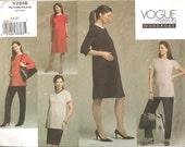 Vogue Pattern 2818 Size 6-8-10 Misses & Misses Petitte Maternity Wardrobe Uncut and Factory Folded