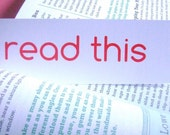 Bookmarks, Set of 3 - Read This