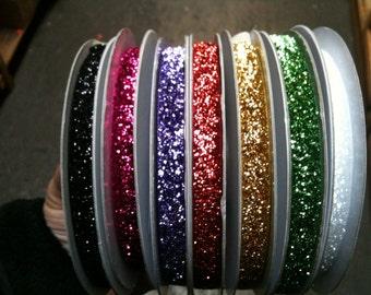 """3/8"""" Glitter Ribbon"""