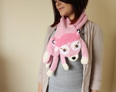 Pink Fawn Stole