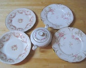 Mismatched Vintage China Set - great for coffee service