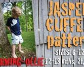 Charming-Ollie adjustable waist  JASPER CUFFED shorts pdf pattern 6-12 12-18 2T 3T 4T bOy GiRL short 2 3 4 12 18