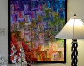 Go With the Flow a Quilted Wall Hanging Color Study