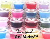 6 Pack of Fresh and Clean Scented Gel Melts(TM) Mineral Oil Wax Tarts For Warmers FREE SHIPPING