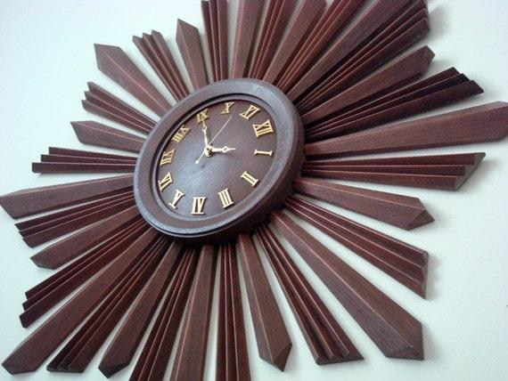 Late 1960's Original Wall Clock