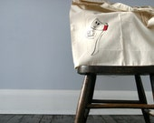 Got Wood Tote Bag - Large Cotton