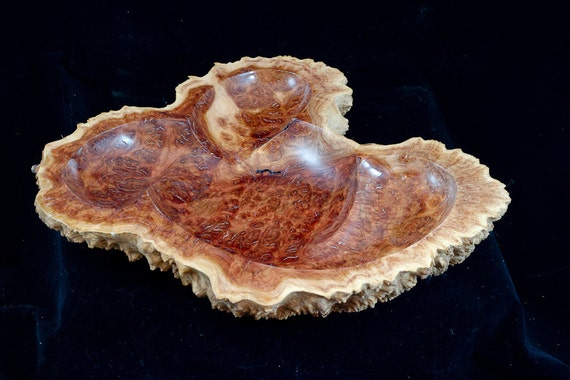 Shallow Bowl from Australian (Red Mallee) Burl (29-293)
