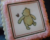 Classic Winnie the Pooh Shortbread Cookies Party Favors