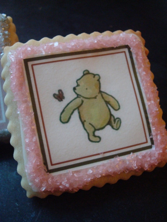 Classic Winnie the Pooh Shortbread Cookies Party by StoneHouseOven