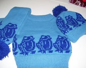 Froggy sweater set for age 6 to 12 months ON SALE
