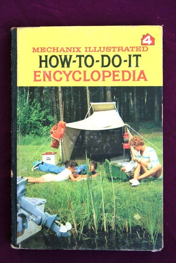 Vintage Mechanix Illustrated How to Do It Encyclopedia, vol. 4, 1961