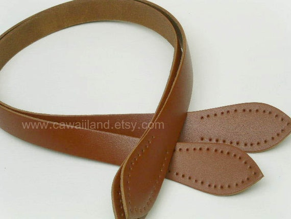 26.5 inch / 1 pair of Genuine Leather Handbag Handle for bag purse Supply