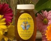 Queen Bee honey in Massachusetts 8 oz. jar