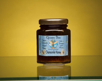 Chamomile infused honey 5.5 oz. by queenbeehoney