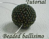 TUTORIAL Beaded ballisimo - Bead pattern