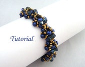 Tutorial Lalita bracelet, Beading pattern PDF