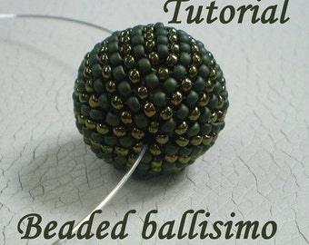 TUTORIAL Beaded ballisimo - Bead pattern