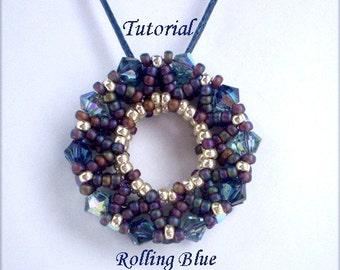 TUTORIAL Rolling Blue - Beading pattern