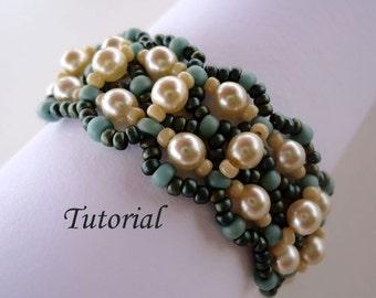 Tutorial Las Perles Bracelet - Bead pattern PDF