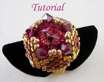 Tutorial Dushi Ring - Bead pattern