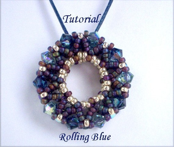 TUTORIAL Rolling Blue - Beading pattern